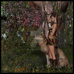 Ravenmane the Druid