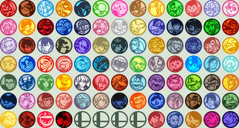 Dream Friend Icons: Everyone is Here by AceDaniaMMX