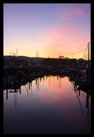 A Calm Sunset by P-i-a-n-o-M-a-n