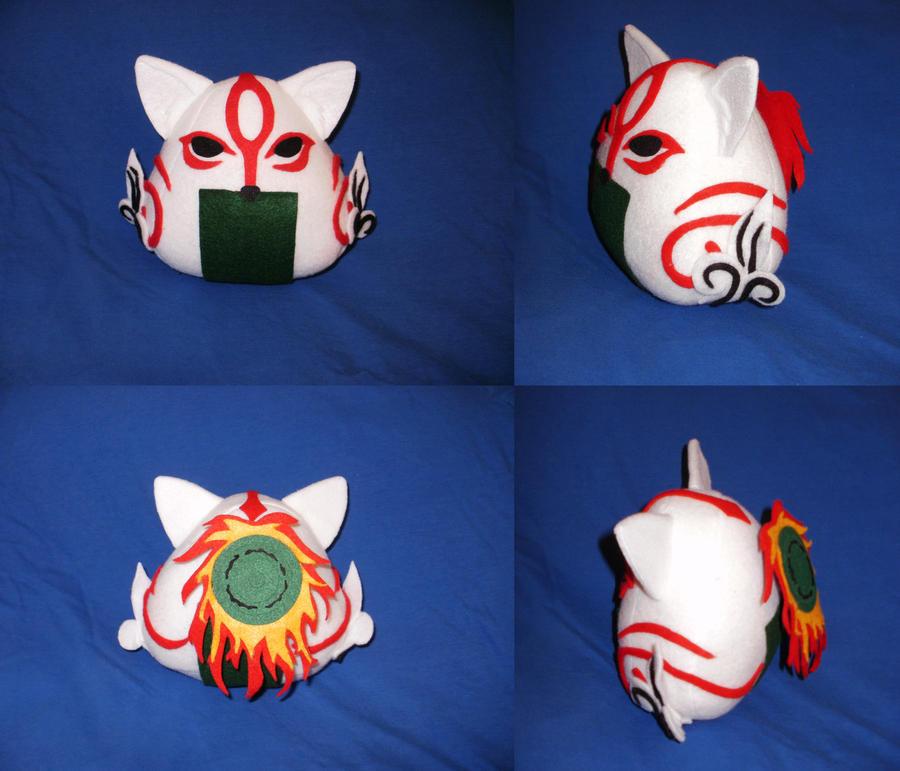 Cosplay Onigiri - Amaterasu by merlinemrys
