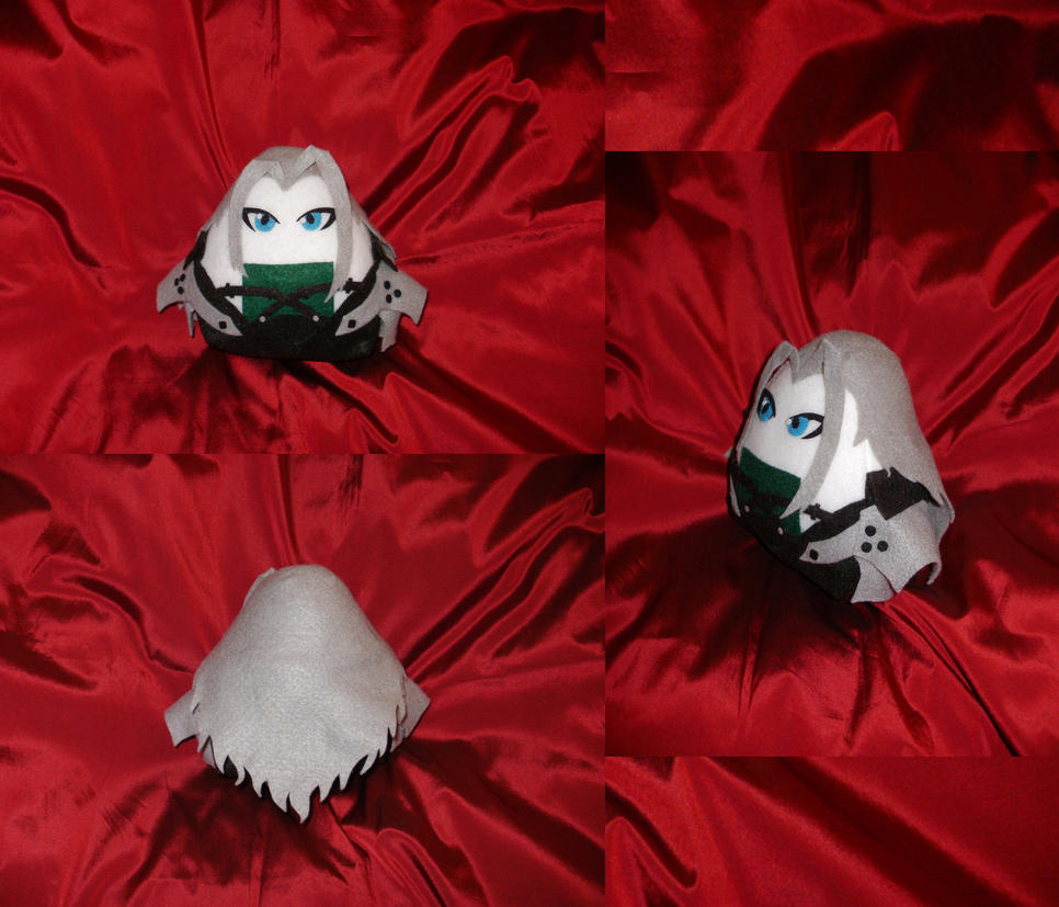 Cosplay Onigiri Sephiroth 2.0 by merlinemrys