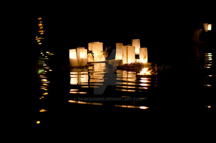 Floating Candles by DarkBorder