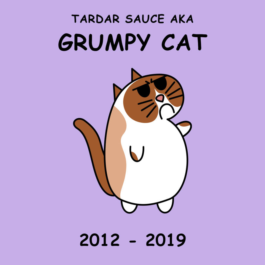 Tribute to Grumpy Cat by kambingputih