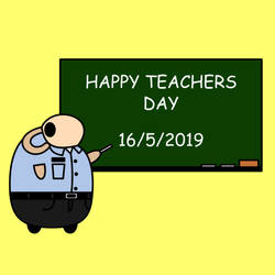 Happy Teachers Day by kambingputih