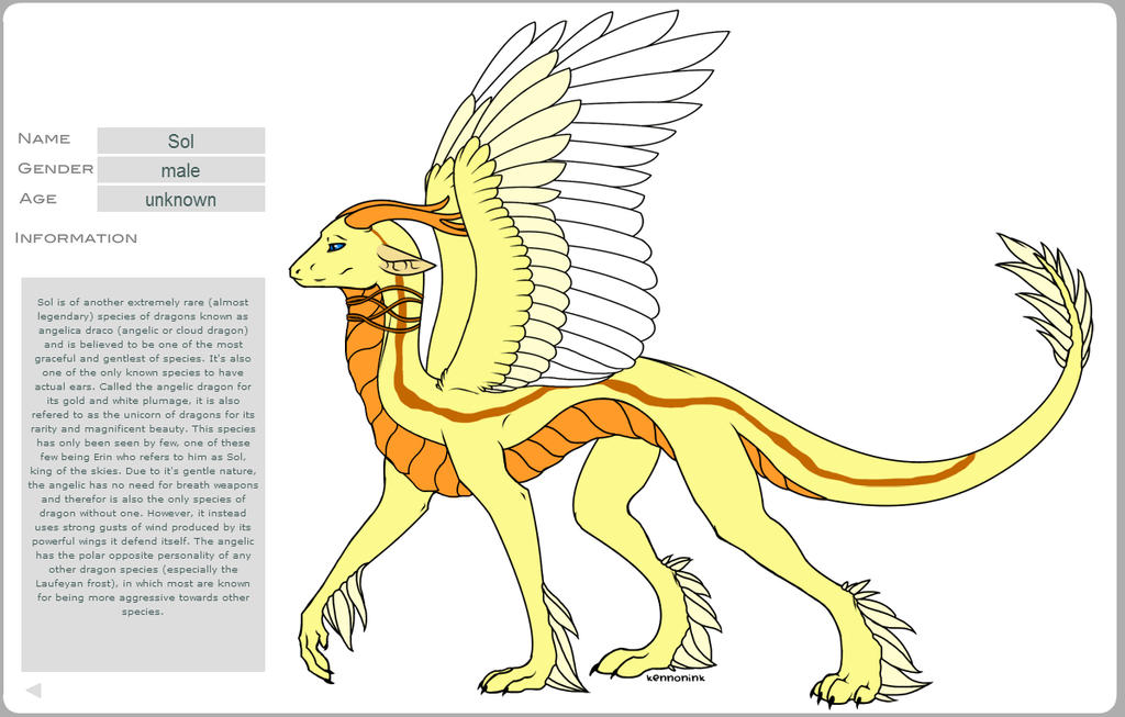 Character sheet: Sol by Determinator12