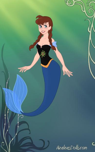 Mermaid!Anna by Determinator12