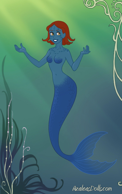 Mermaid!Mystique by Determinator12