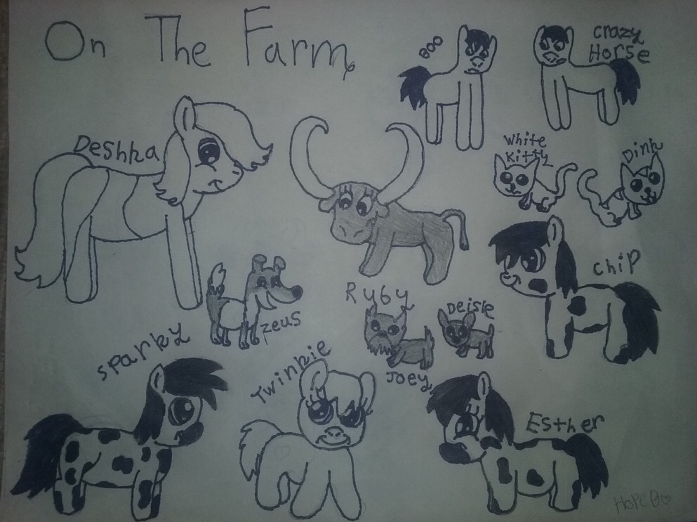 Farm Animals: MLP Style by SonicTAlicorn