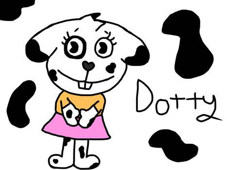 HTF OC: Dotty Dalmatian