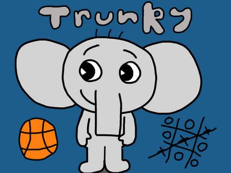 HTF OC: Trunky the Elephant