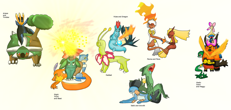 Pokemon diamond and pearl starters does not