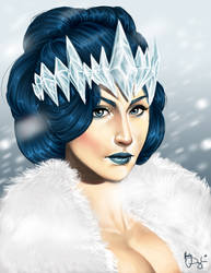 Snow white Queen by Hori