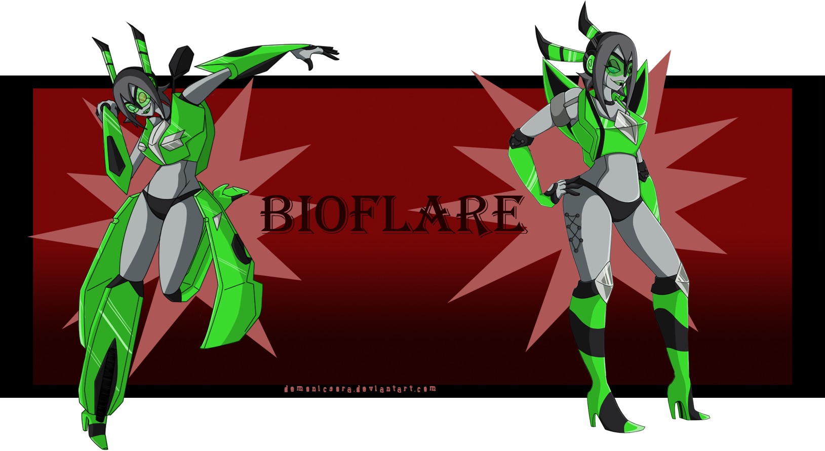TF: Bioflare Full Reference by DemonicSora