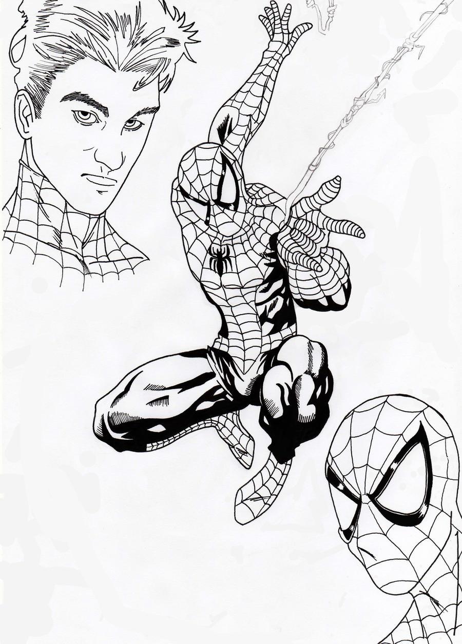 Dibujo de Spiderman - Arte - Taringa!