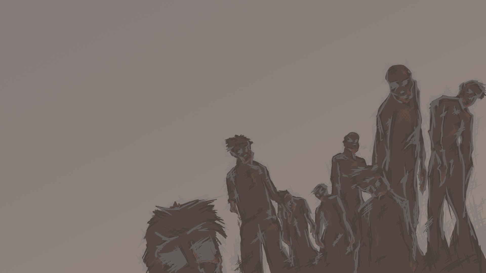 zombie horde wallpaper hd - photo #22