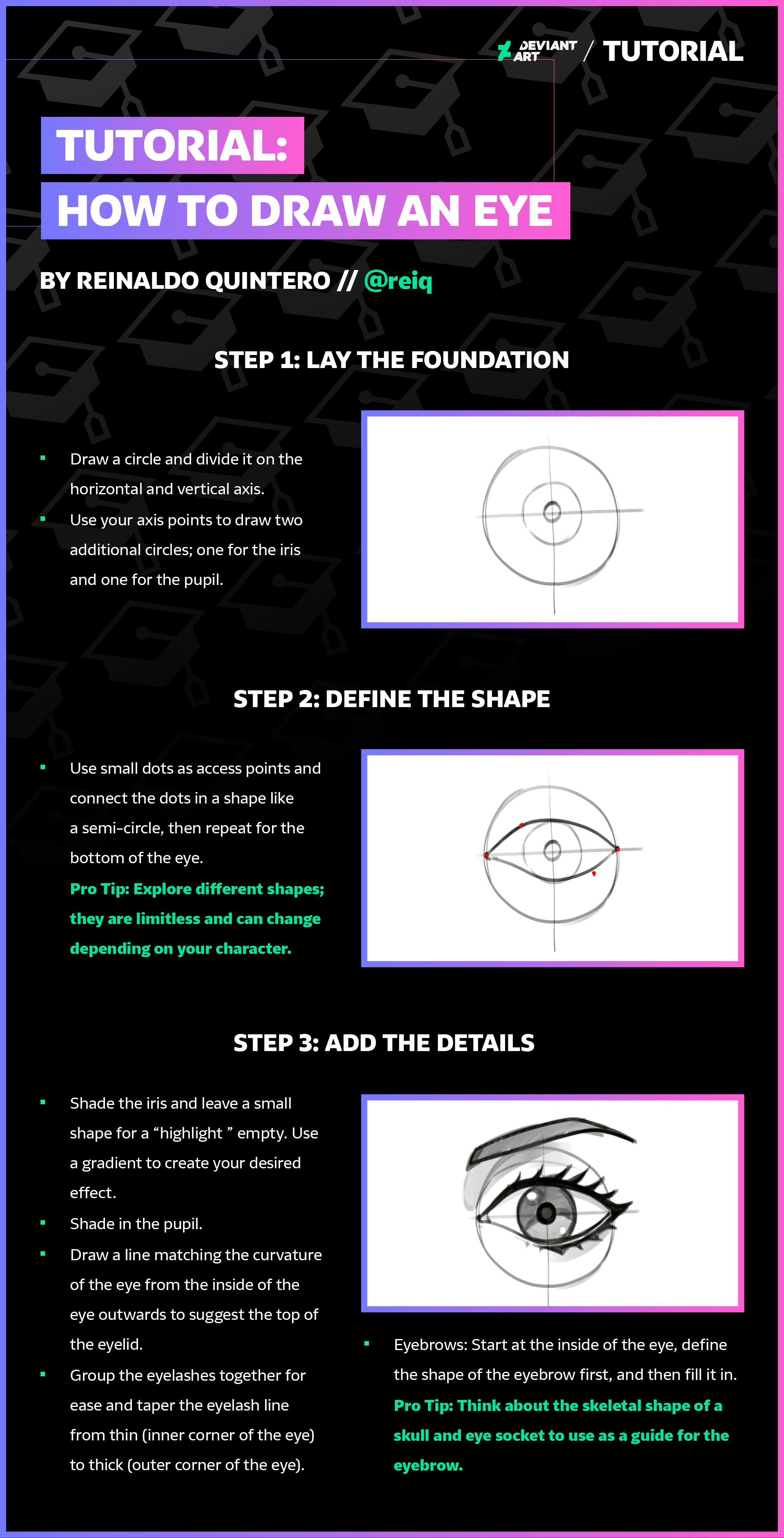 Draw an Eye with reiq