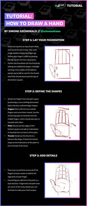 Draw a Hand with schmoedraws