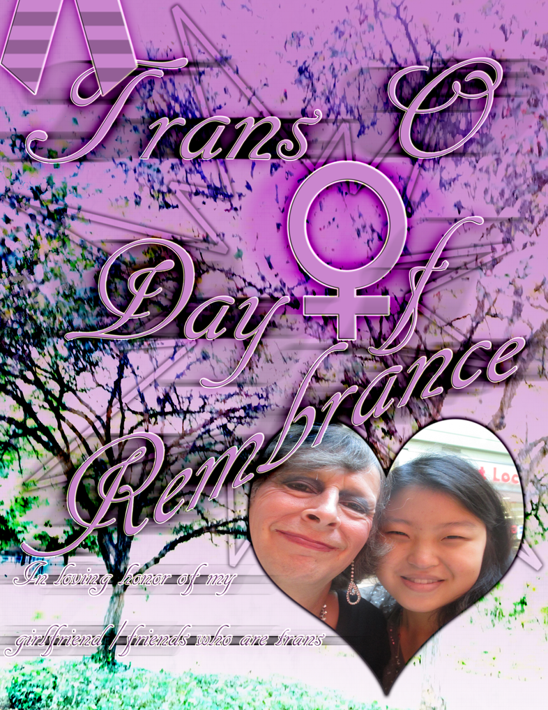 .:Trans Day of Remembrance 2014:. by AngelMiyoko