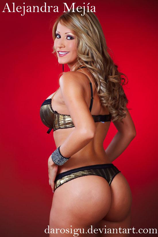 Alejandra Mejia, atractiva modelo tica by darosigu