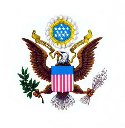Great Seal of the United States of America by darosigu