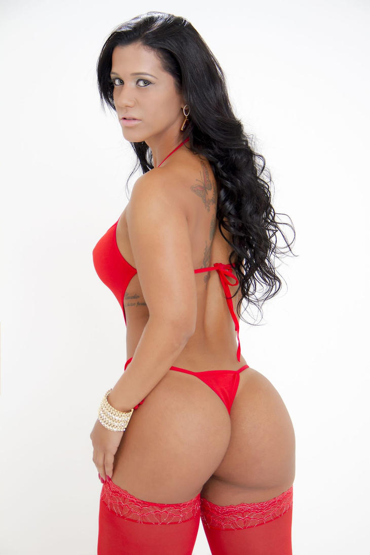 busty latina lingerie