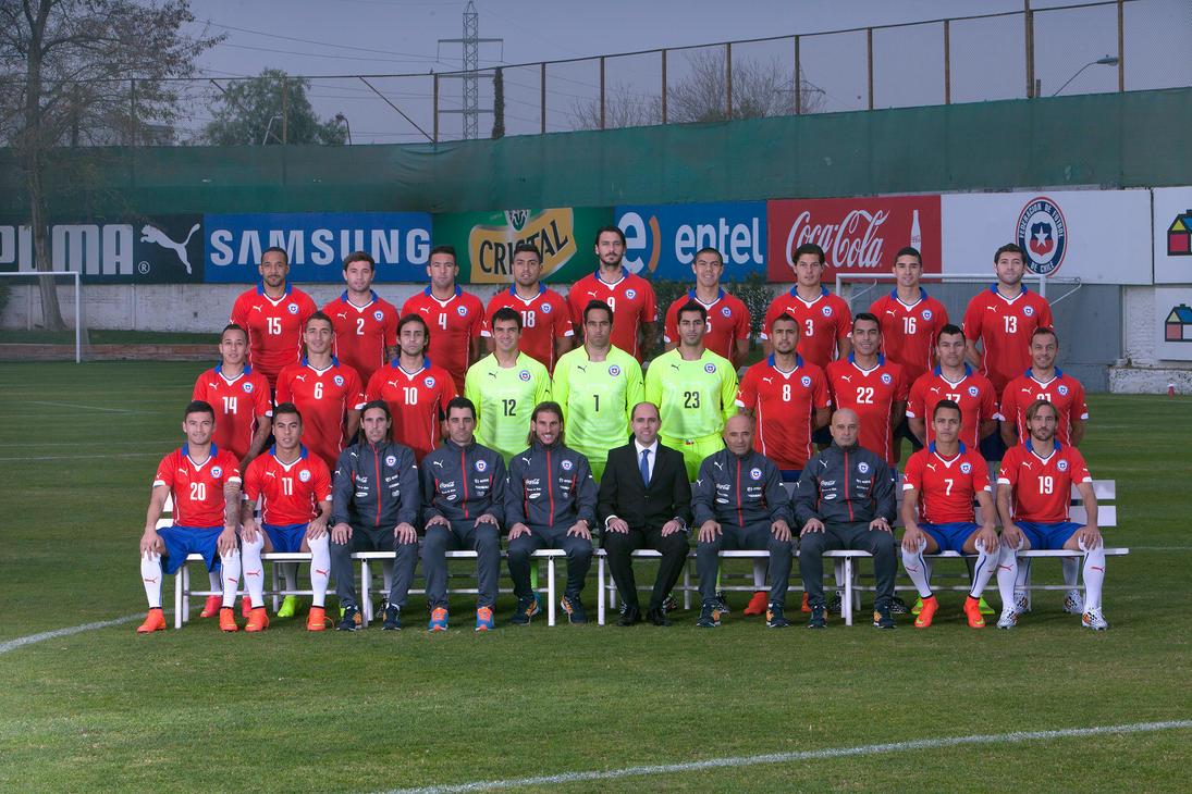 La seleccion de futbol de Chile by darosigu on DeviantArt