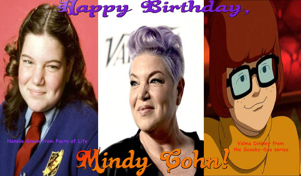 Mindy Cohn's 55th Birthday