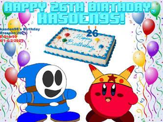 kasden95's Birthday Present(2021)