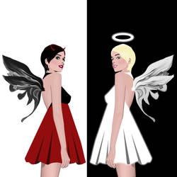 Opposites attract by BlazinPhoenix