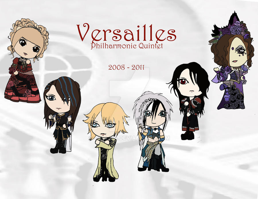 Versailles 2008-2011 print