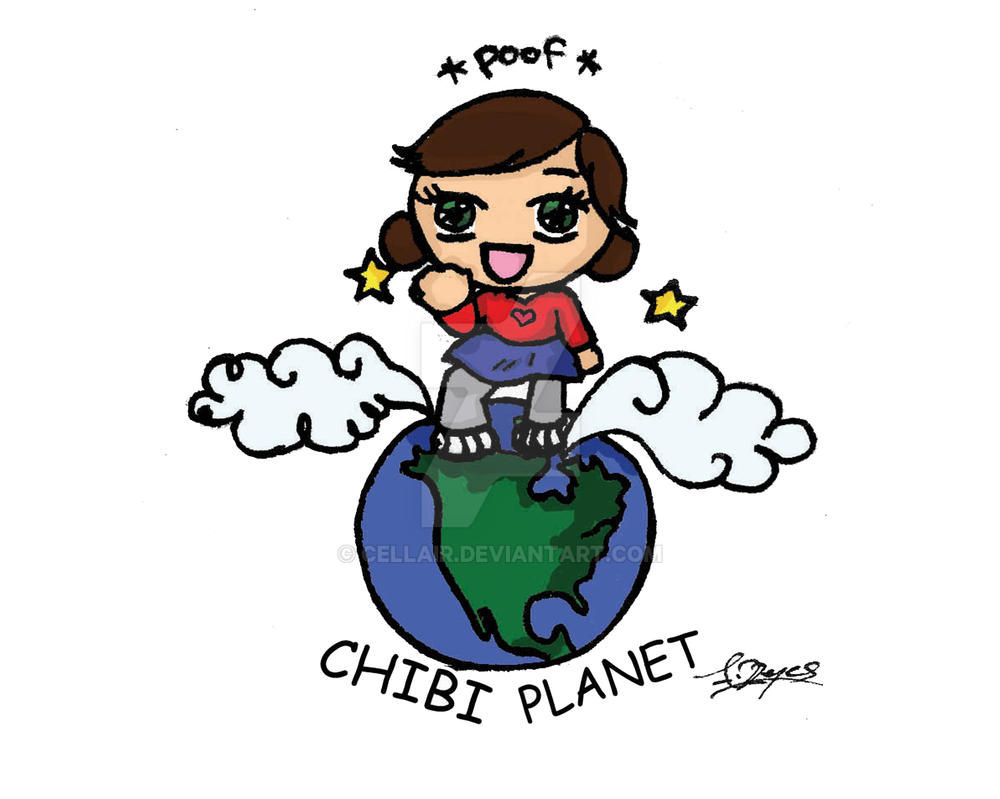 chibi planets background - photo #22