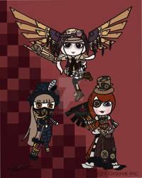 Pullip Dolls Steam punk Elite Print