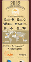 2012 Year in Review Infographic