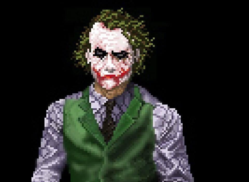 Pixel Joker By HougeSandwichArt On DeviantArt