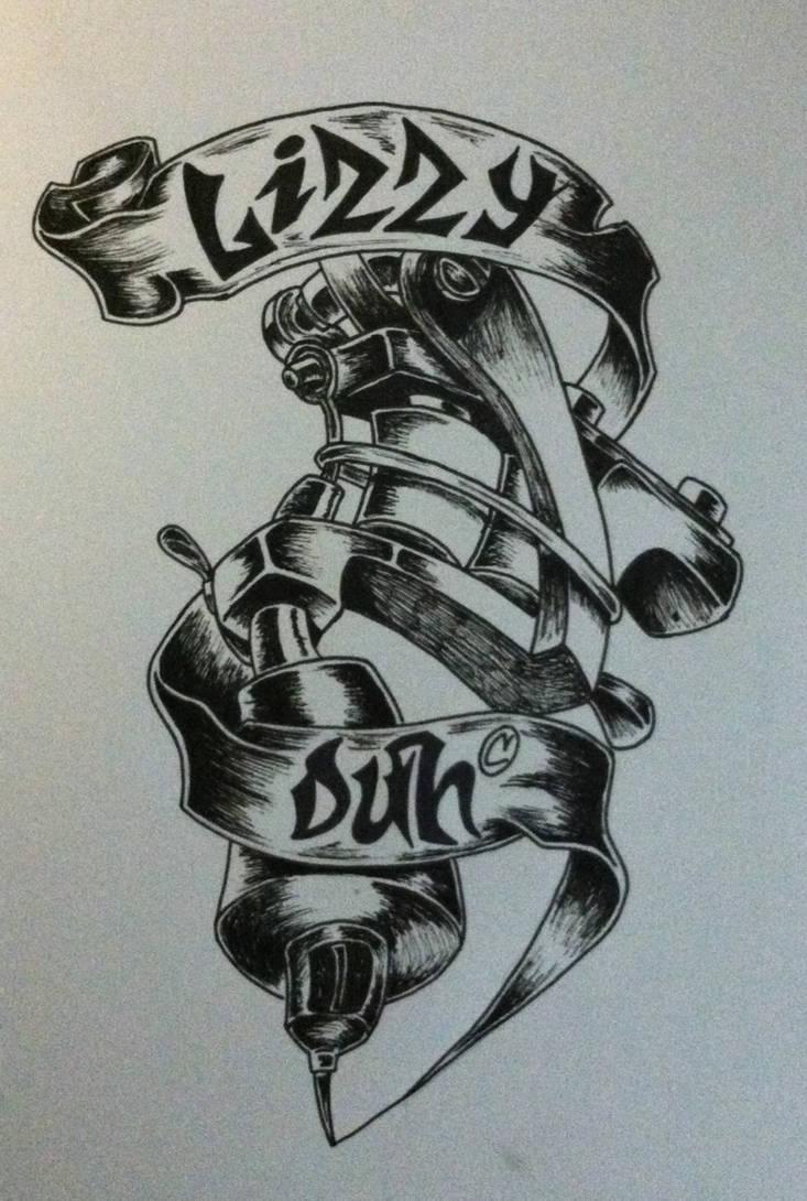 My Tattoo Logo Design by lizzyduhh on DeviantArt
