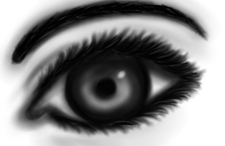 EYE SKETCH 8D by MysticMidnightQueen