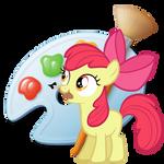 MsPaint (Little Apple) Icon