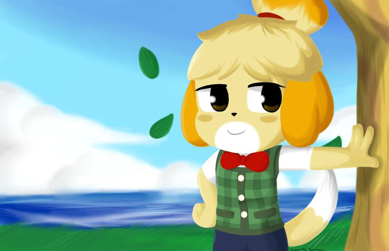 Isabelle's Little Day by DaDigitalMastah