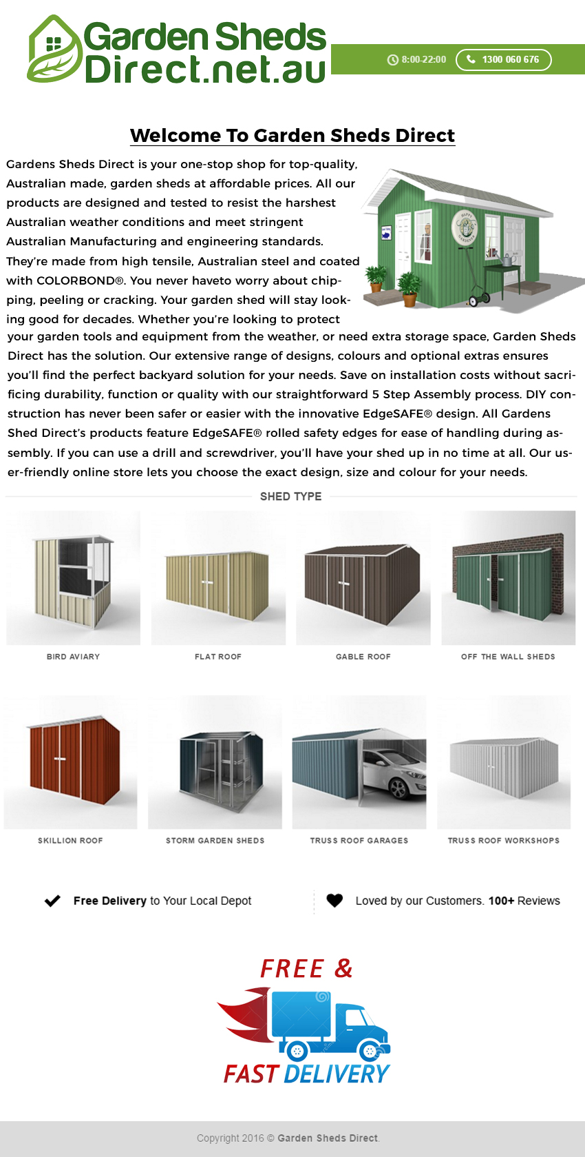 Garden Sheds Direct Infographics by percyfrank123