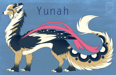 Yunah Ref Sheet by Miosita