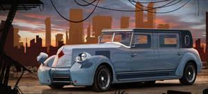 retro car restyling