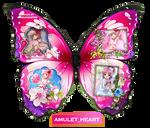 Amulet Heart Butterfly