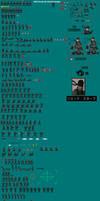 Solid Snake Complete Sprite Sheet