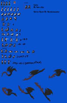 Calin Sprite Sheet (Complete)