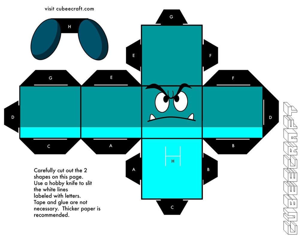 Goomba - Underground variant by cubeecraft