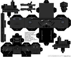 Shadowtrooper by cubeecraft