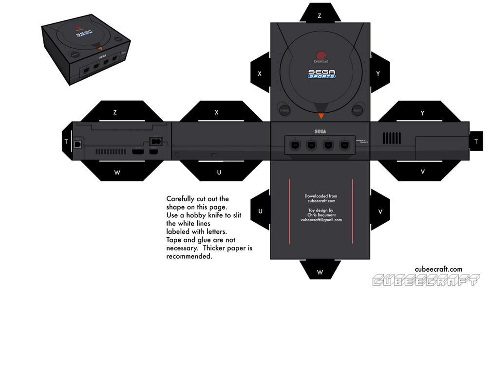 Sega Sports Dreamcast by cubeecraft