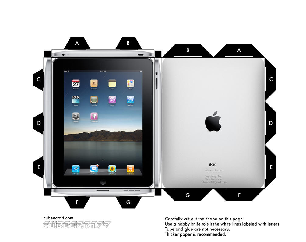Cubeecraft iPad by cubeecraft