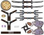 1988 TMNT Accessories