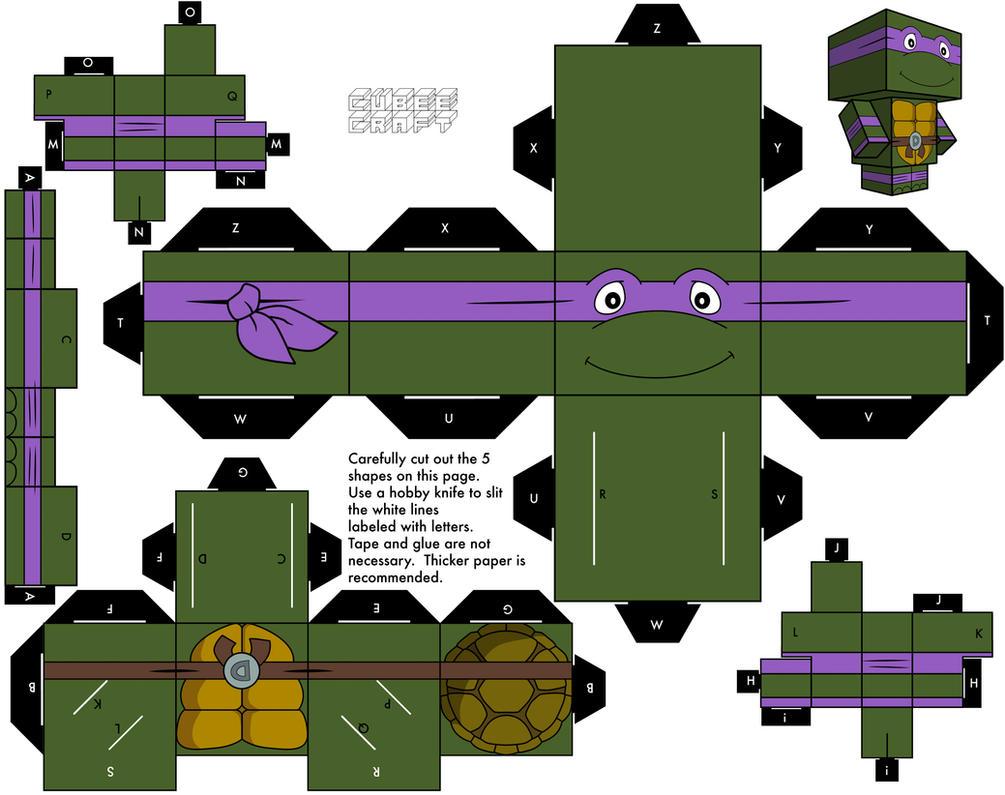 1988 Donatello by cubeecraft